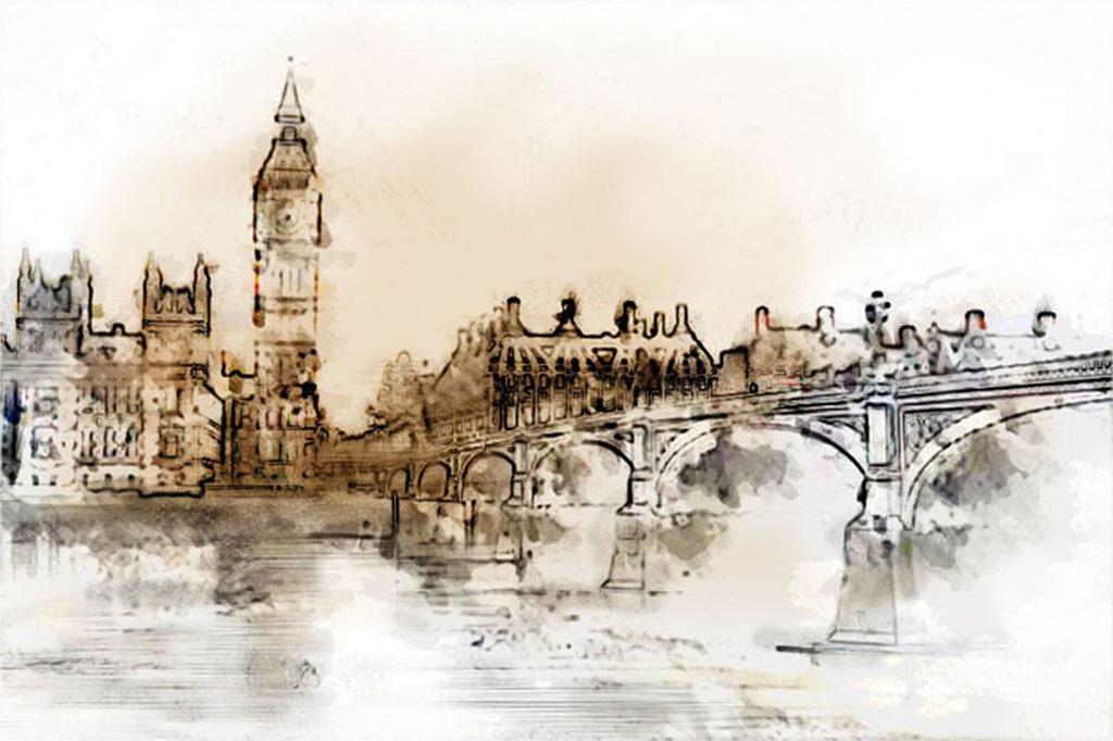 Танюкевич В. Лондонский мост