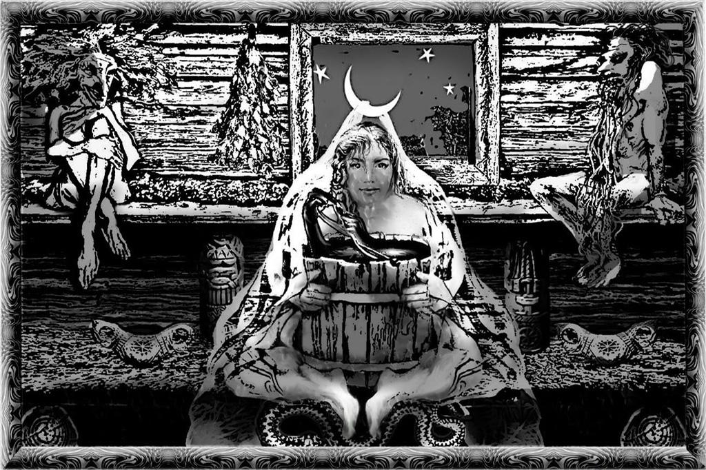 Танюкевич В. Байка из баньки про лунную невесту