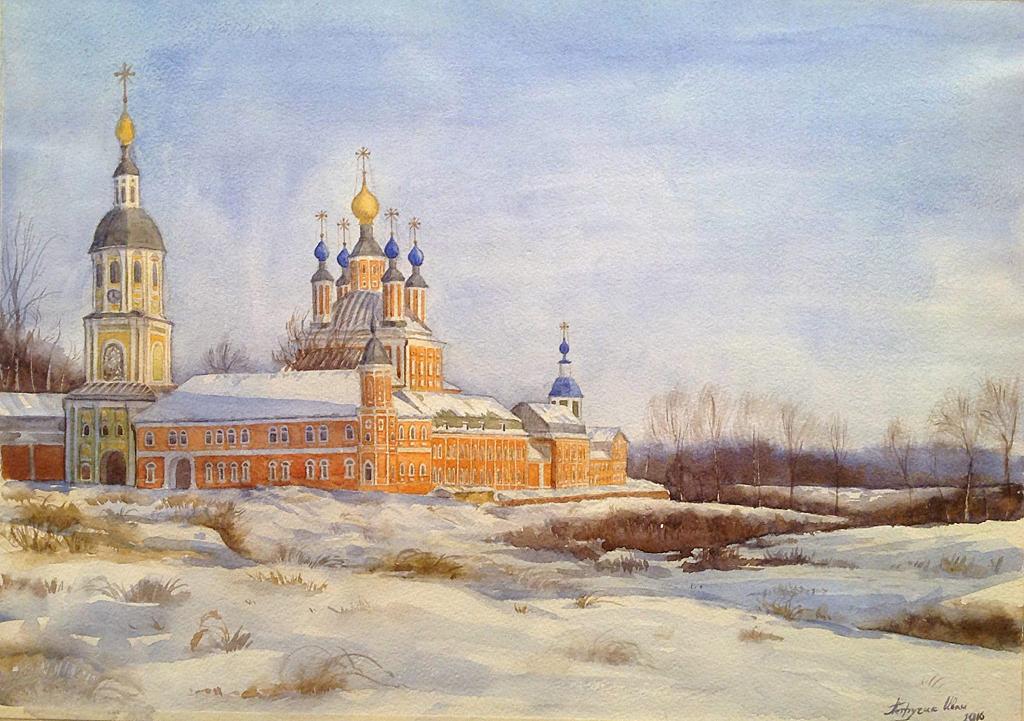 Петручик И. Санаксарский монастырь. Россия