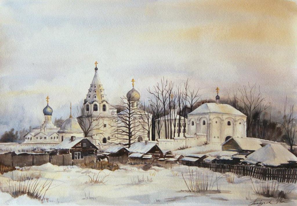 Петручик И. Свято-Троицкий Данилов мужской монастырь. Россия