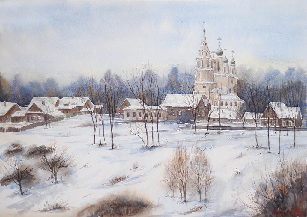 Петручик И. Спасо-Архангельская церковь. Город Тутаев, Россия