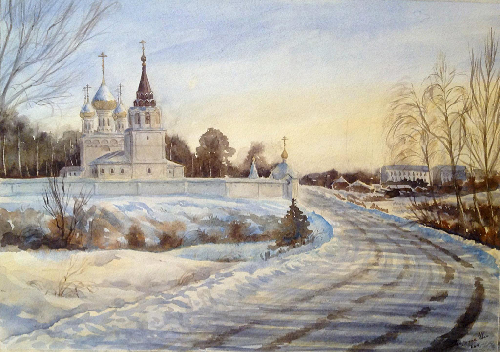 Петручик И. Сыпанов-Пахомиево-Нерехтский женский монастырь. Россия