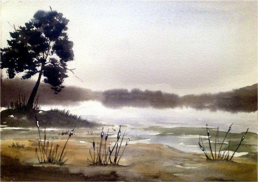 Петручик И. Туман над рекой