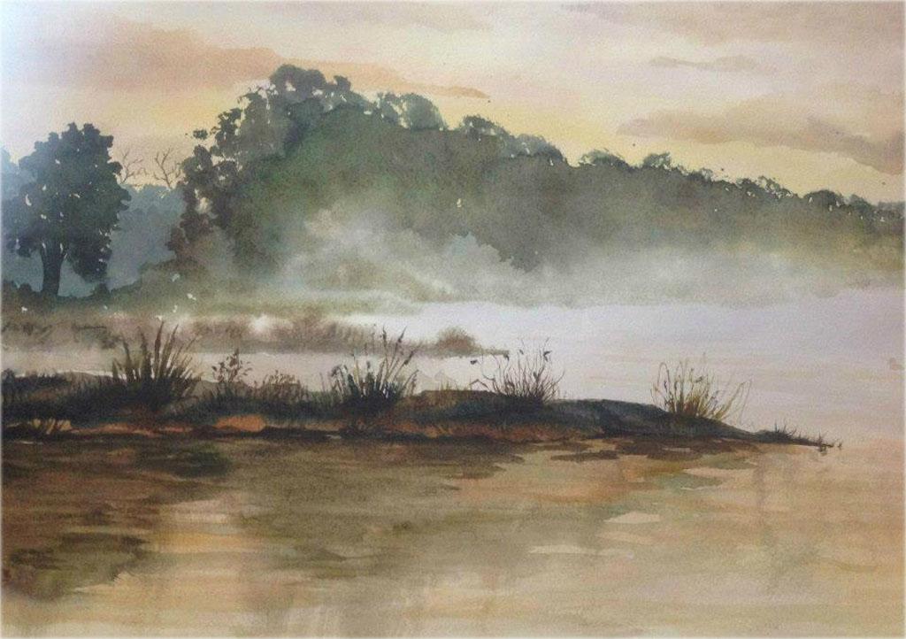 Петручик И. Туман над Мухавцом