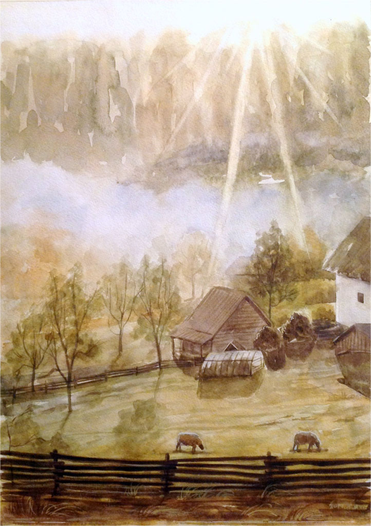 Петручик И. Пастбище