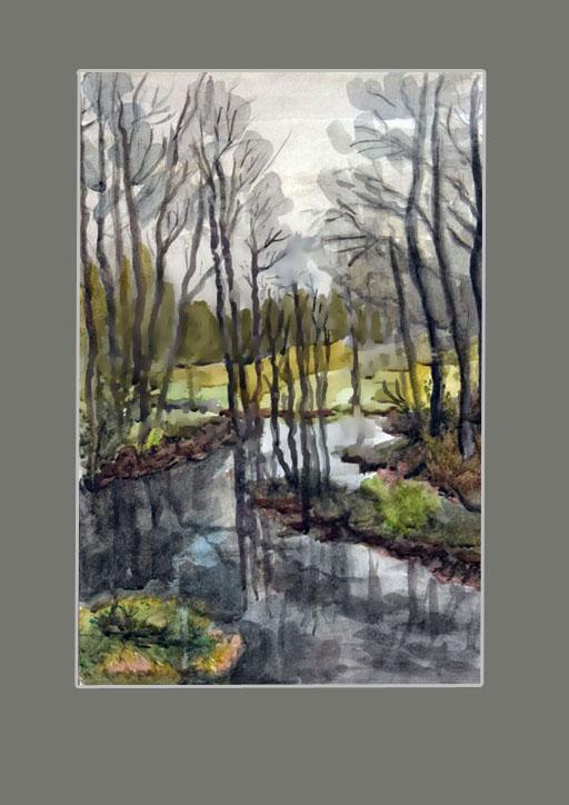 Киченок А. Лесной ручей