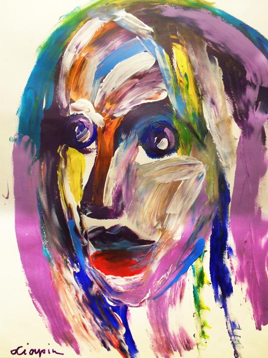 Ляпин А. Женский портрет