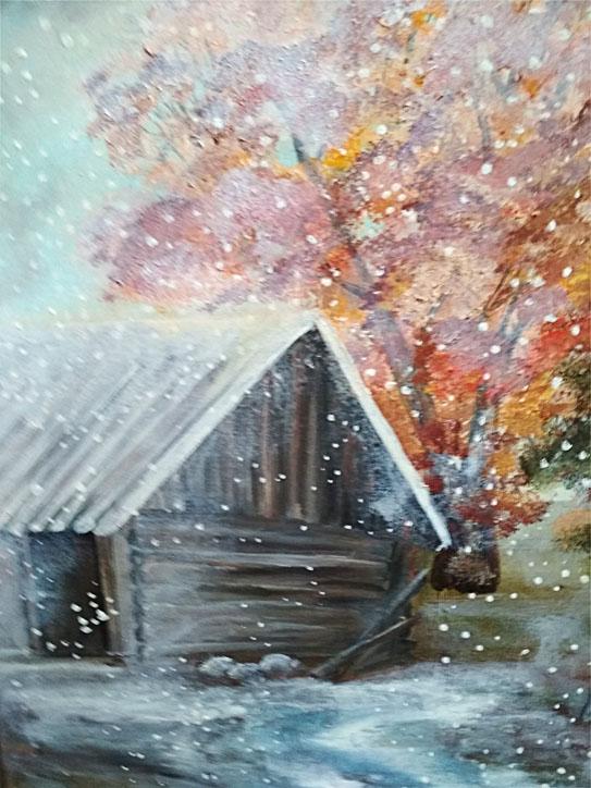 Котович Е. Первый снег