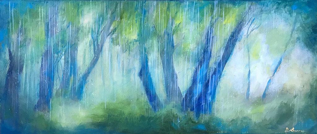 Котович Е. Дождь (диптих)