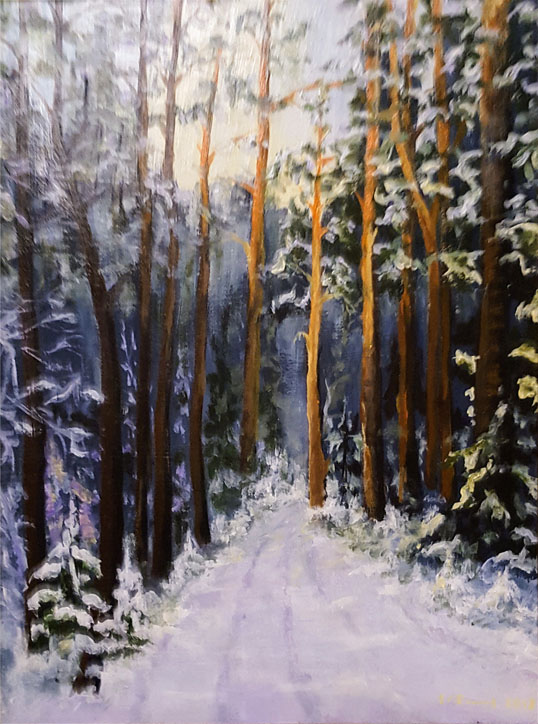 Коленькова И. Зимний лес