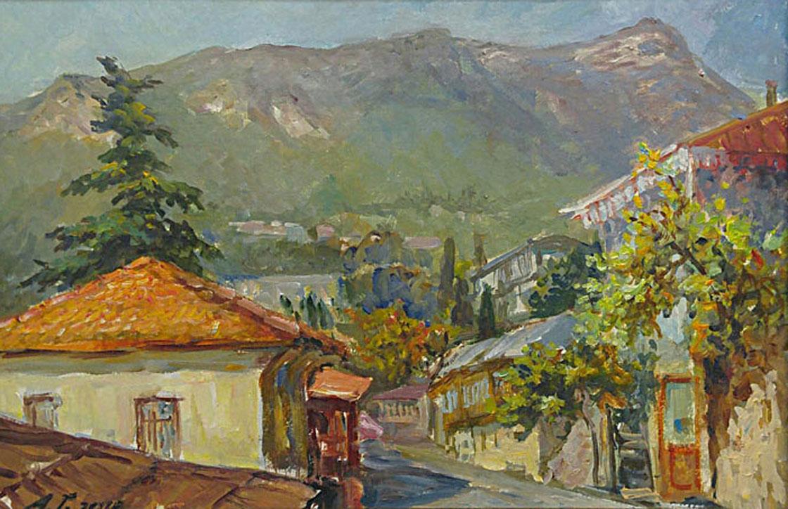 Гадирова А. Вид на Роман-Кош