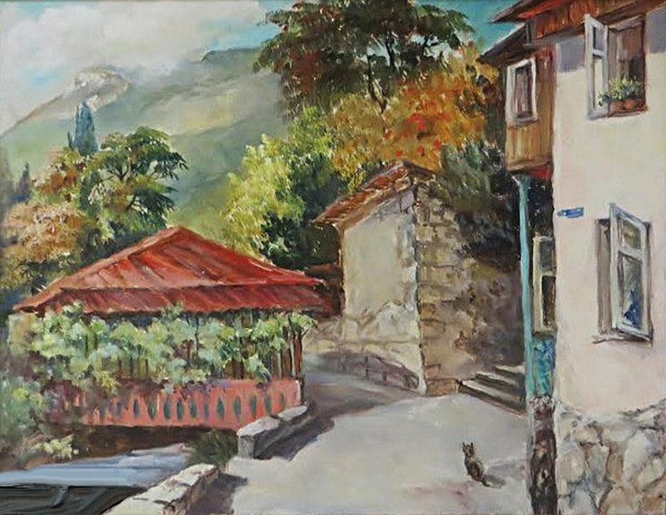 Гадирова А. Осенью в Гурзуфе