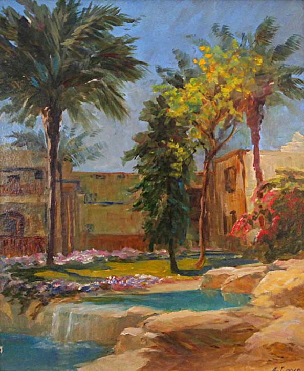 Гадирова А. Египетский дворик