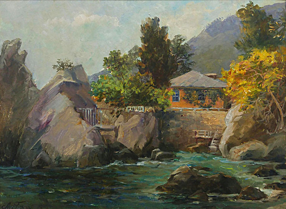 Гадирова А. Домик в скалах