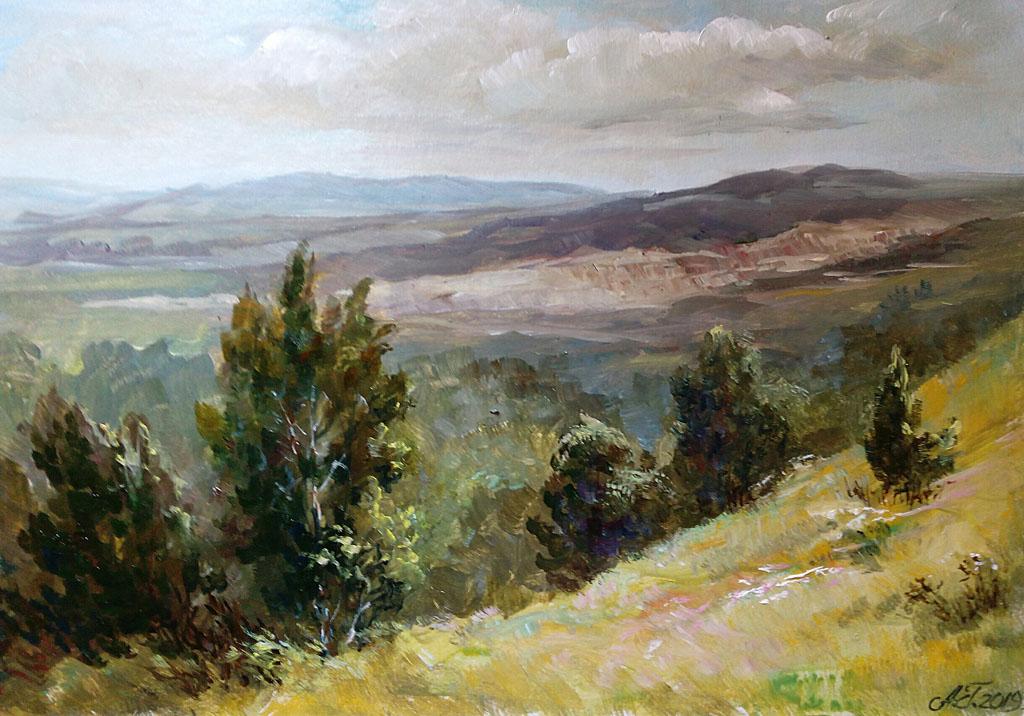 Гадирова А. На горе Медянка. Польша