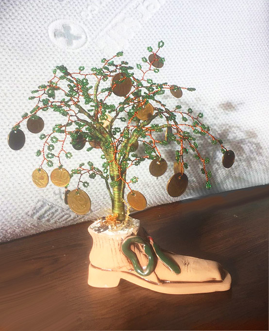 Будник В. «Денежное дерево» (бисер)