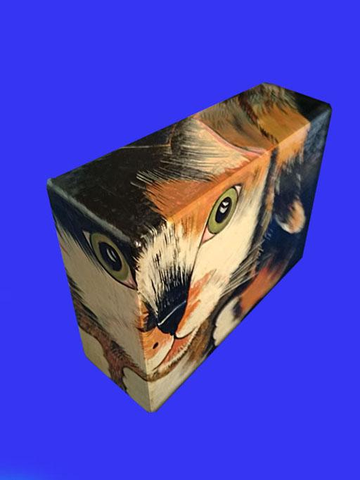Котович Е. «Кошка Лиля» (объемные миниатюры)
