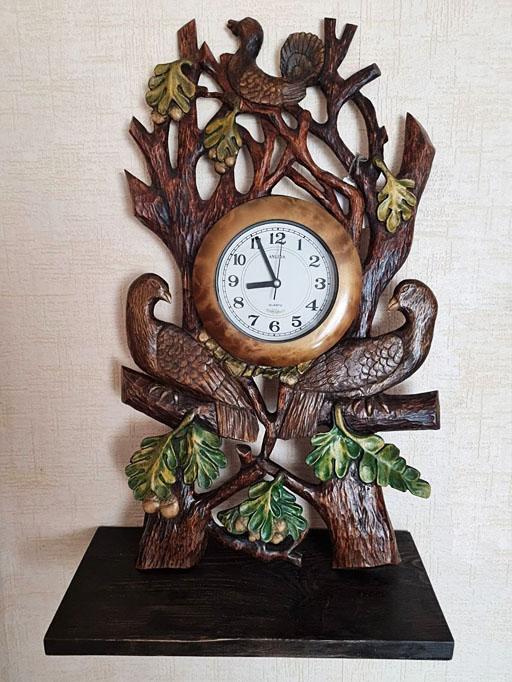 Суворов С. «Весеннее пробуждение» (дерево, художественная резьба)